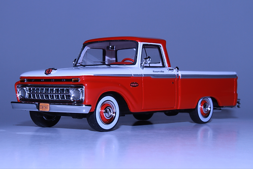 GC-004 B. 1965 FORD F-100 Pick Up Rangoon Red.