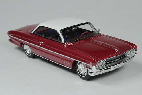 GC-020 A 1961 Oldsmobile 98 Red