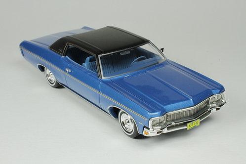 GC-029 B 1970 Chevrolet Impala Custom Coupe coupe  Mulsanne Blue