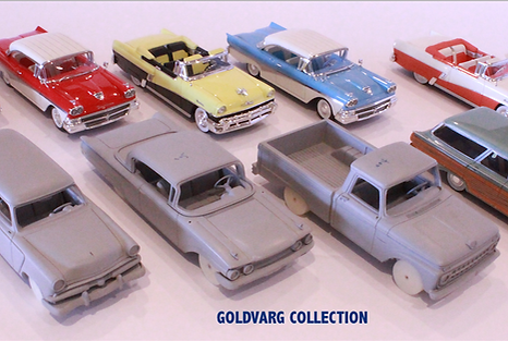 Oldsmobile 1958 scale 1/43 from Goldvarg Collection.