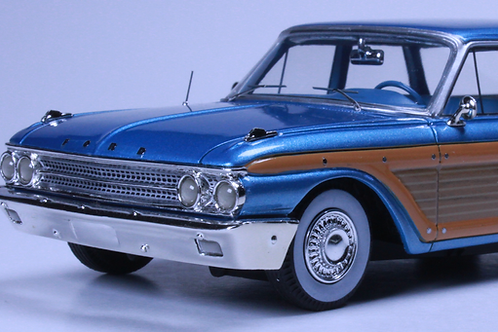 GC-003 B  1961 FORD COUNTRY SQUIRE Metallic Blue. SOLD OUT