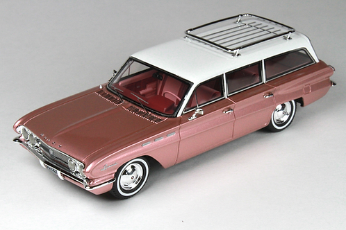 GC-019 A 1962 BUICK Special Station Wagon Camelot Rose