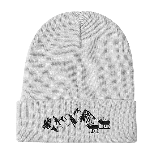 Colorado Rocky Mountains Beanie - Rocky Mountains Stocking Hat - Denver Colorado Rocky Mountains Beanie