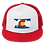 Denver Colorado Flag Trucker Snapback Cap - Rocky Mountains Trucker Snapback Cap