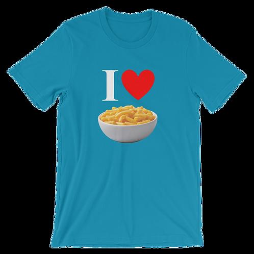 I Heart Mac N Cheese Shirt - I Heart Macaroni and Cheese Shirt