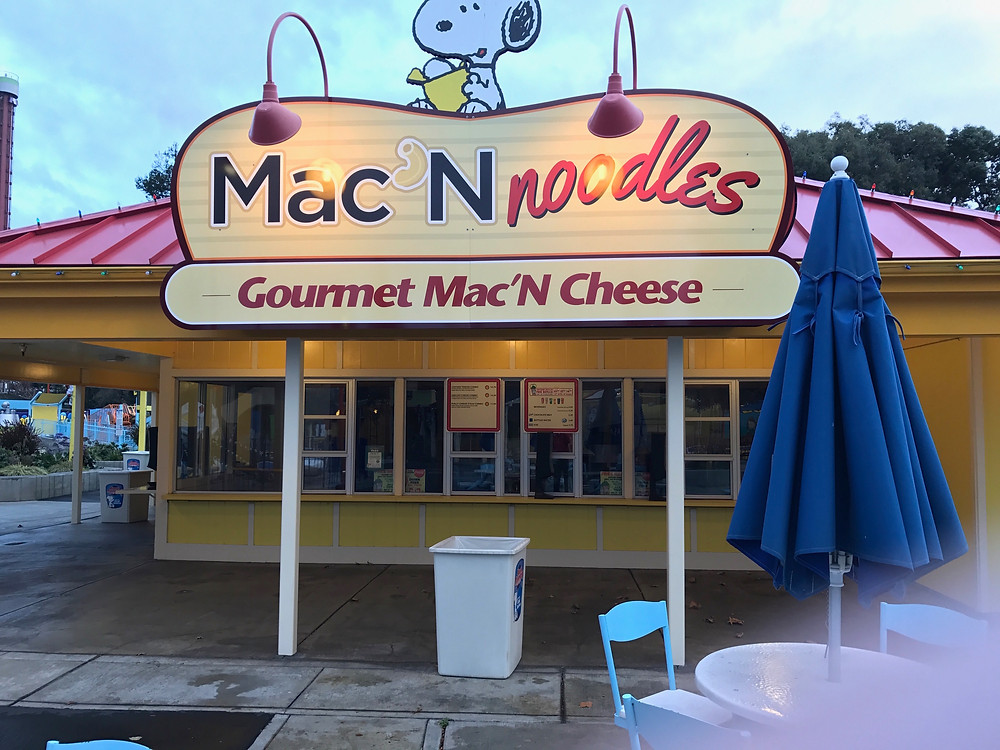 Mac 'N Noodles at California's Great America in Santa Clara