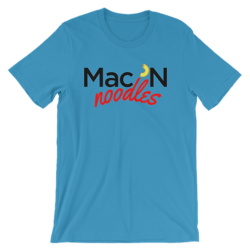 Mac 'N Noodles Logo T-Shirt - Mac 'N Cheese Shirts