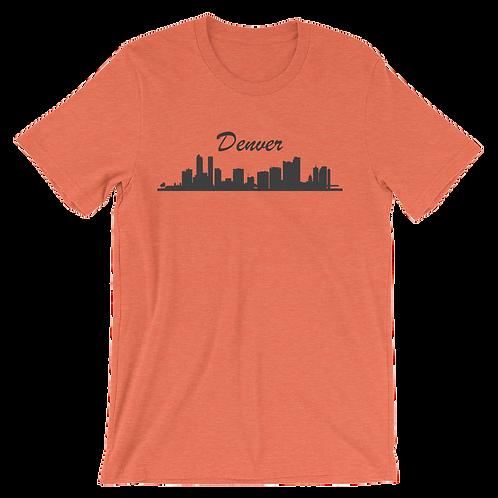 Denver Skyline Shirt - Denver Colorado Shirt - Denver City Skyline Shirt
