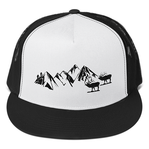 Rocky Mountains Trucker Snapback Cap - Denver Rocky Mountains Souvenirs