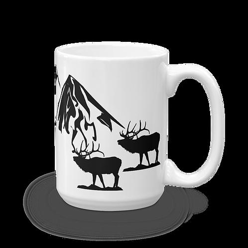 Mountain Scene Coffee Mug - Denver Rocky Mountains Coffee Mug - Hikers Coffee Mug