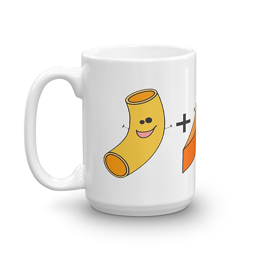 Mac 'N Cheese Coffee Mug - Macaroni and Cheese Coffee Mug - Mac and Cheese Coffee Mug