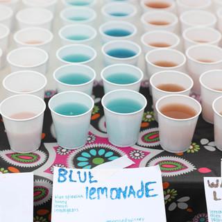 Blue Lemonade sponsored by Pressed Juicery