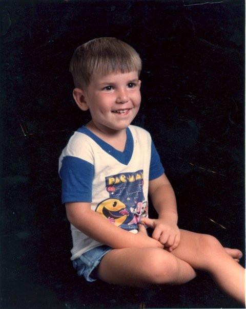 Spencer Schluter, Age 3