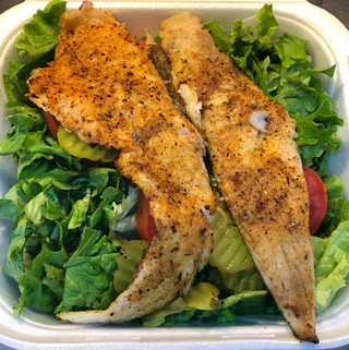 Grilled Whiting Salad