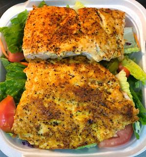 2pc Grilled Salmon Salad