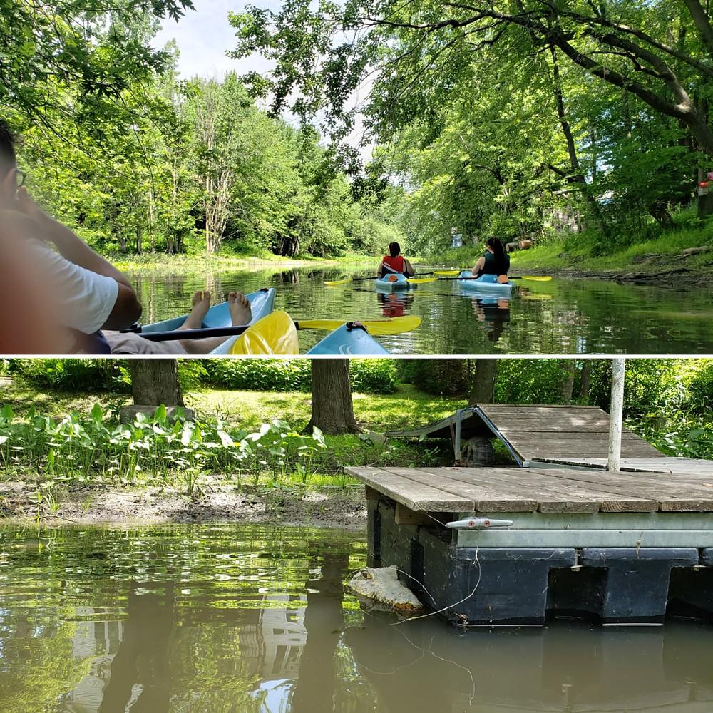 concordia outdoors club executive team silver linings kayaking alligator