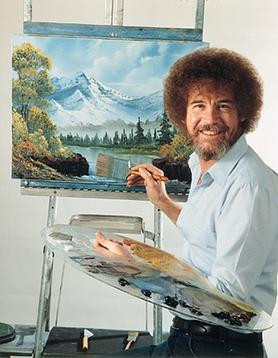 bob ross date night artistic fun romance