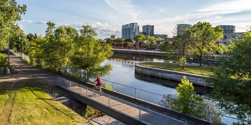 lachine canal biking route bike