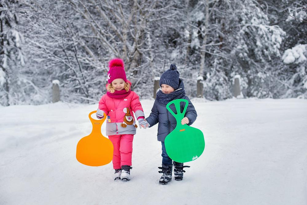 parc beaubienl winter park sledding tobogganing