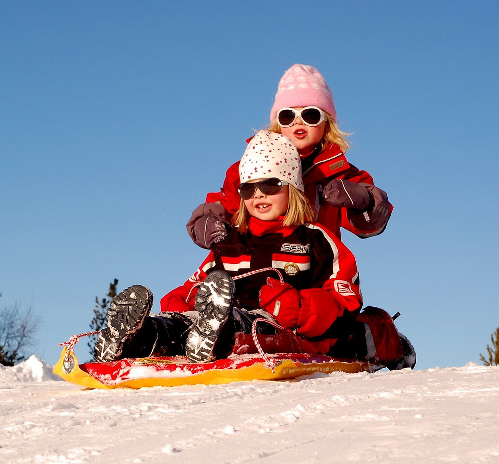 parc point aux prairies winter park sledding tobogganing