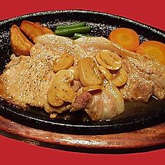 上質な味わい食感 豚ロースしょうが焼ステーキ