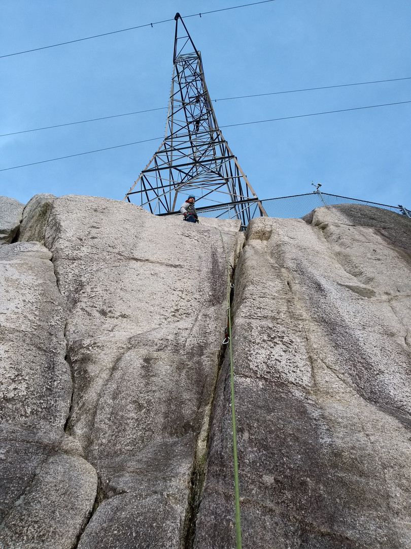 topping out on a 5.7