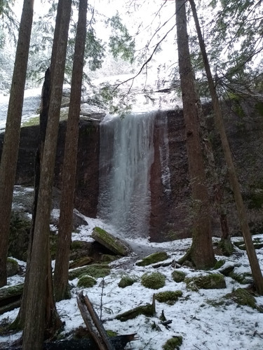frozen waterfall number 1