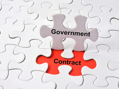 Where does the Government search for contractors?