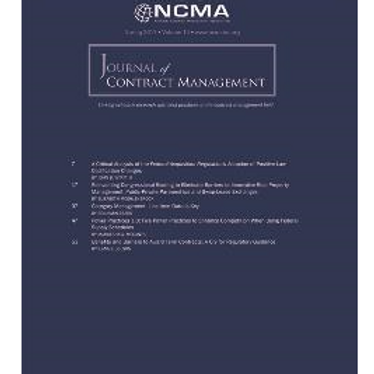Journal of Contract Management 2017