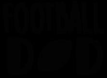 FOOTBALL14; SIZES 12X12, 14X14, 18X18