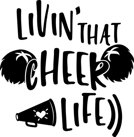 CHEER07; SIZES 8X12, 14X14, 18X18