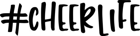 CHEER10; SIZES 8X12, 12X12, 14X14