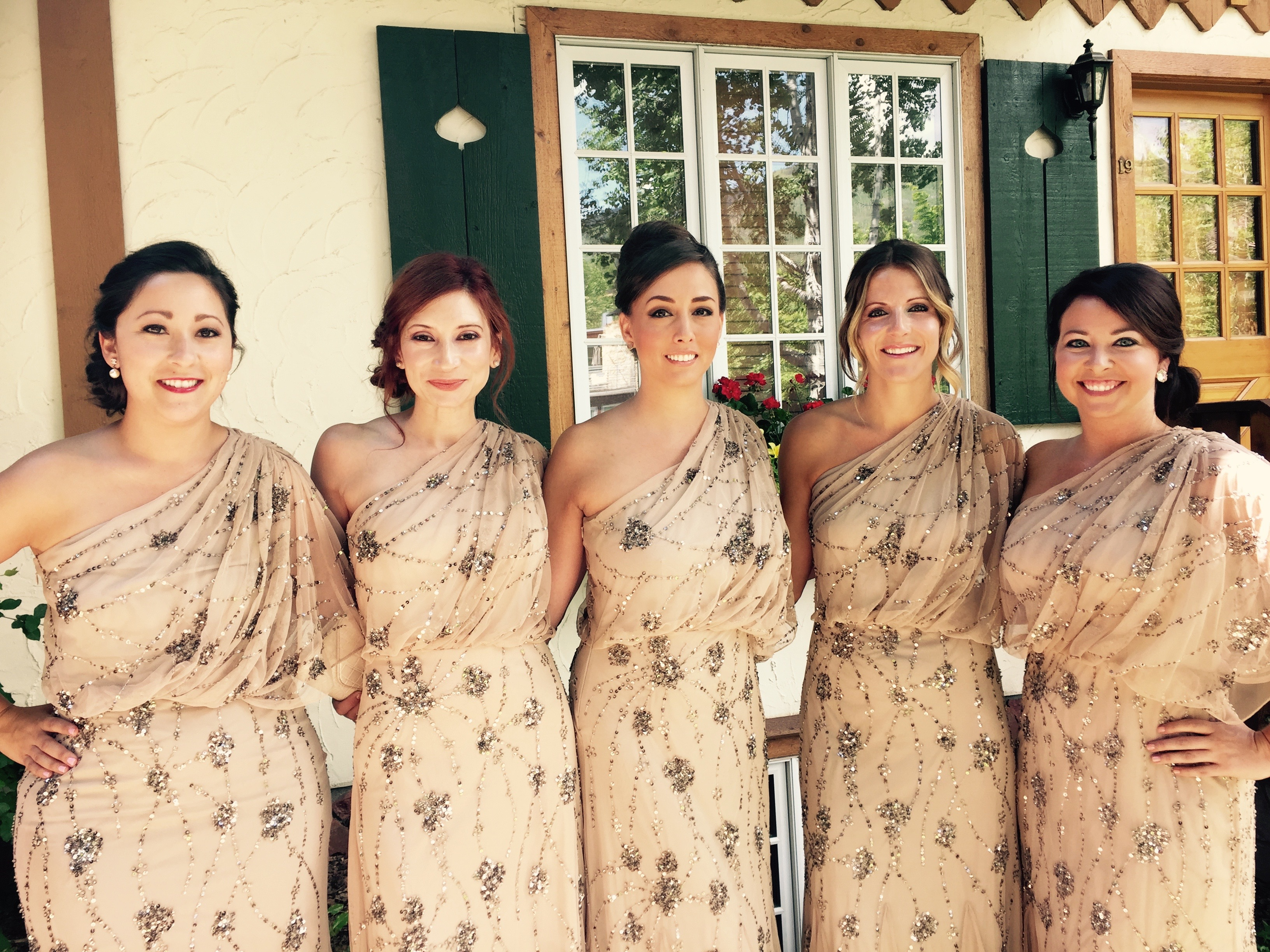 JENNIFER'S BRIDESMAIDS