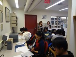 Lissette at Barnard College
