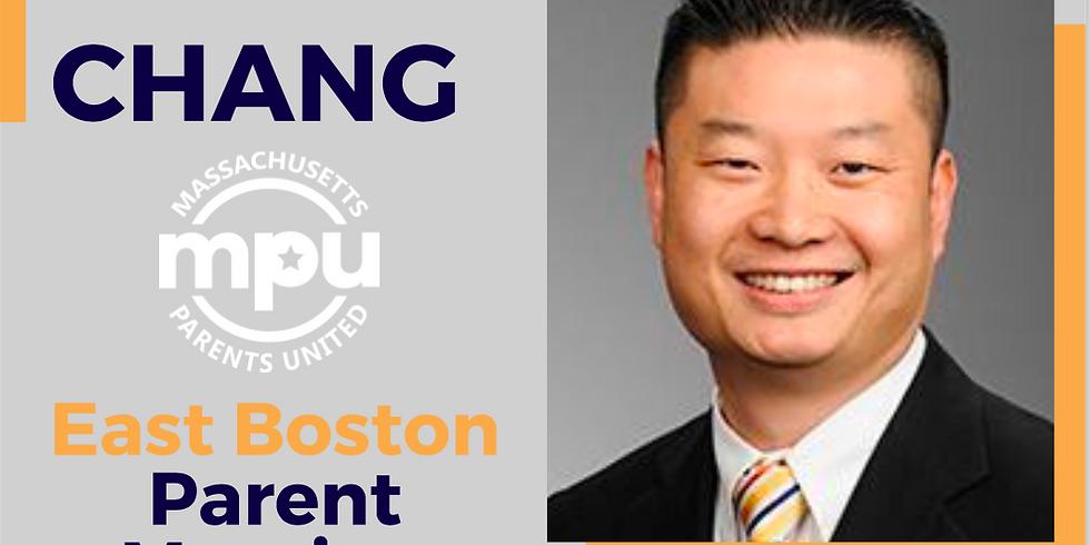 MPU East Boston Meeting: Tommy Chang
