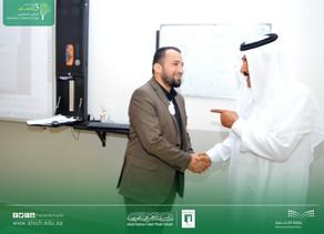 مدير عام المدارس يشكر المعلم الفاضل أ / أحمد المنشاوي