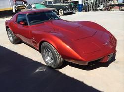 Restored 1977 Corvette