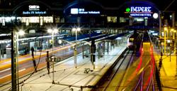 exposure time, trainstation