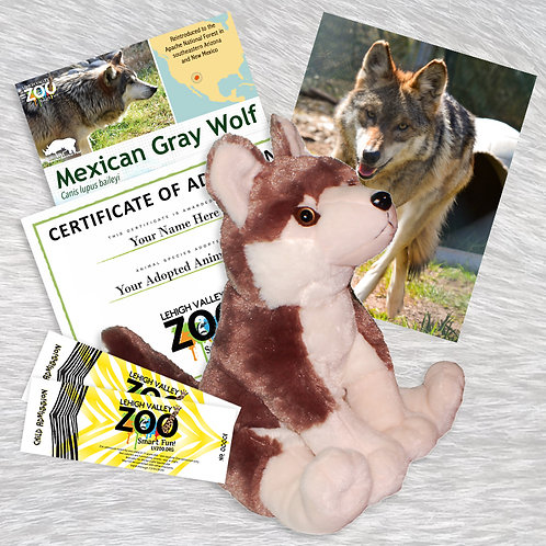ADOPT An Animal - Mexican Gray Wolf