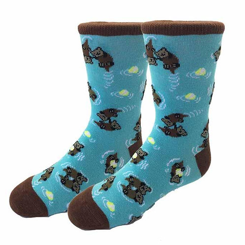 Otter Pair Youth Socks