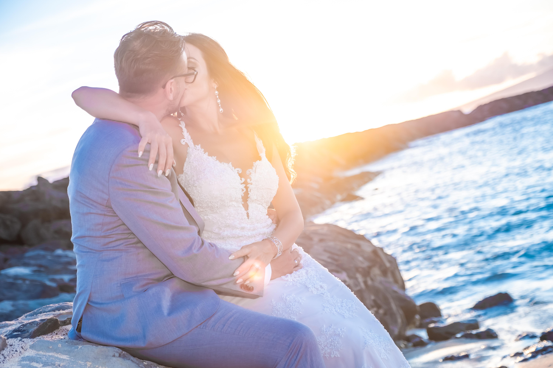 Magic island Hawaii beach wedding -60
