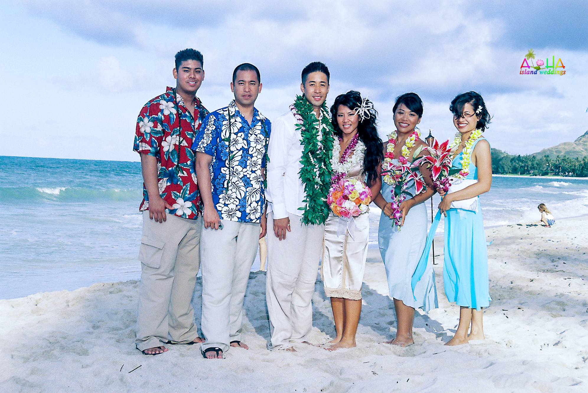 Beach wedding in Kailua-108