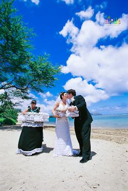 Dove Release wedding ceremony in Hawaii-7