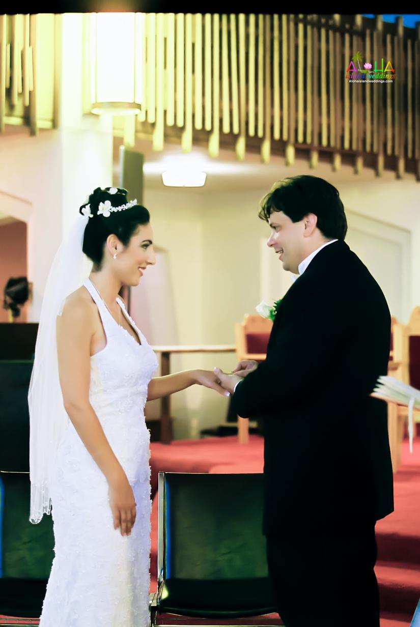 Hawaiian Church Wedding on Oahu-59