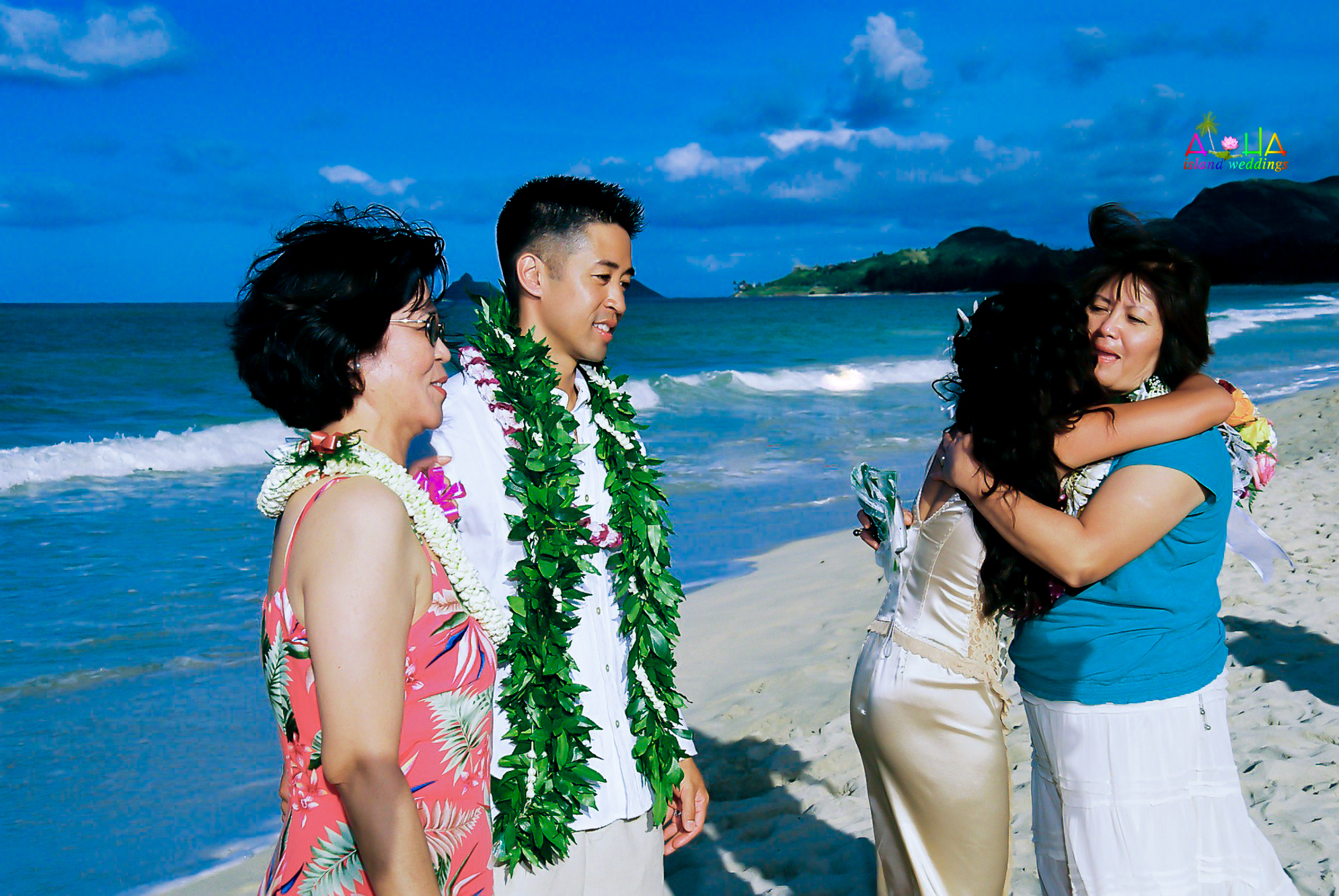 Beach wedding in Kailua-124