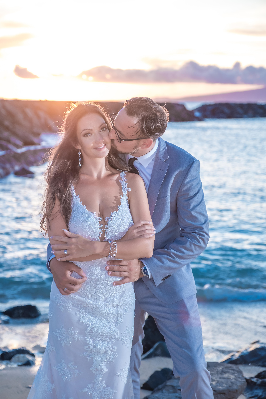 Magic island Hawaii beach wedding -46