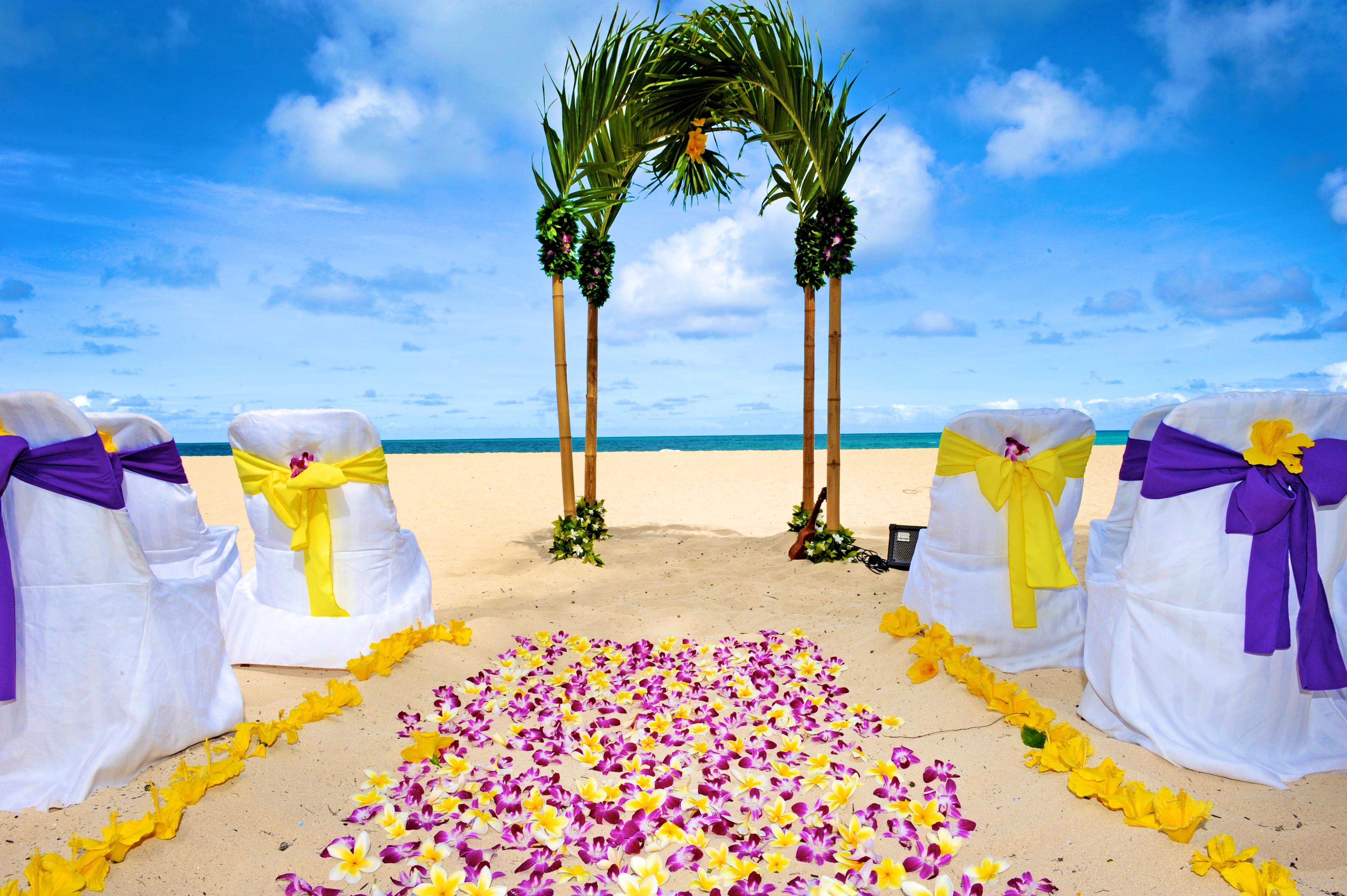 Hawaiian Wedding -12
