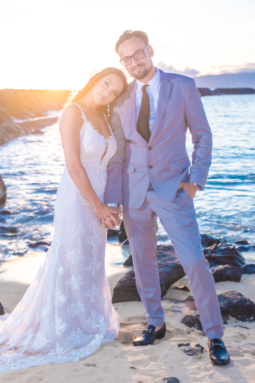 Magic island Hawaii beach wedding -51