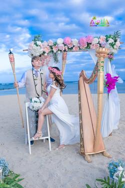 Waialae beach wedding-5