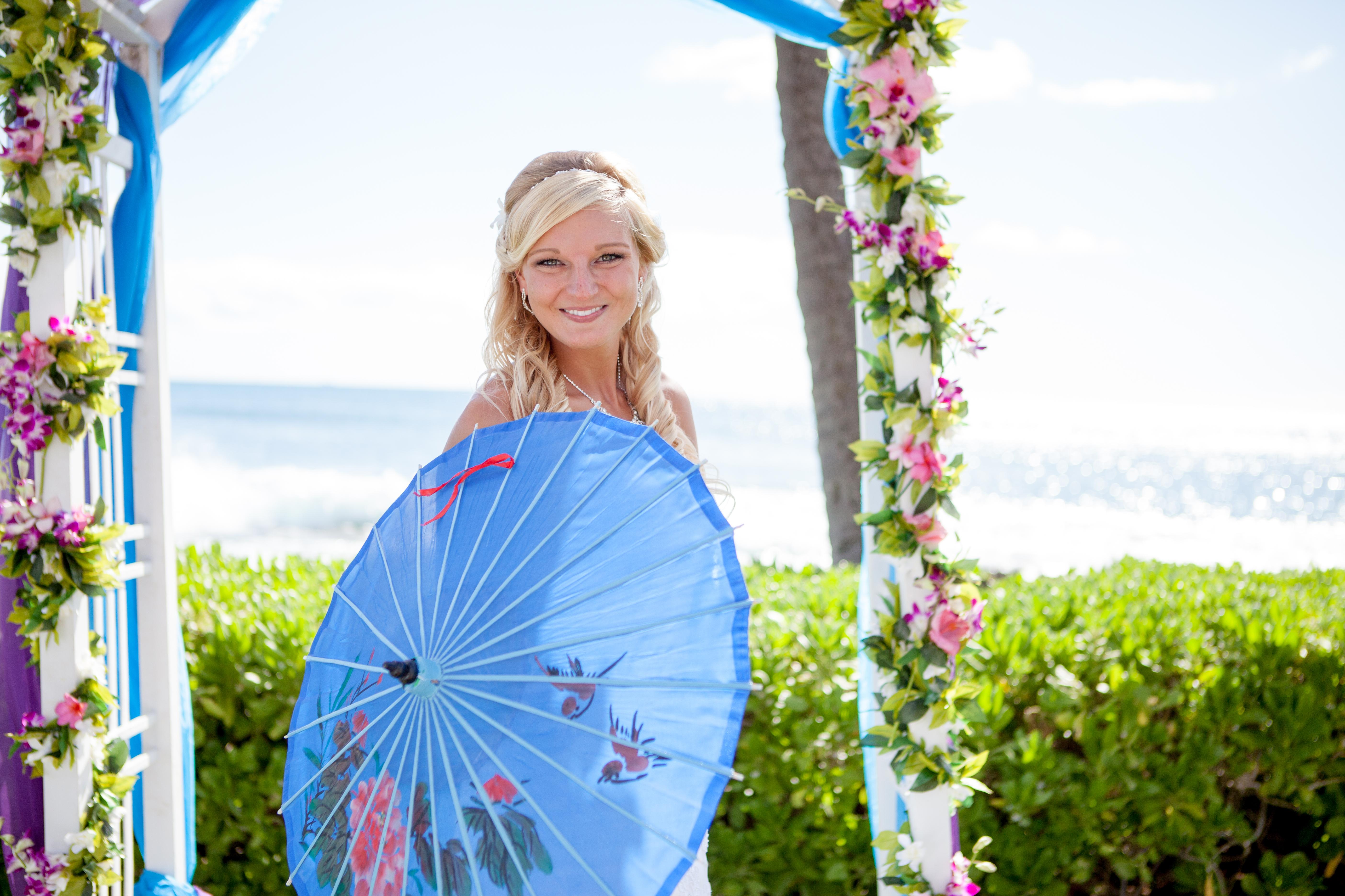 Hawaii wedding paradise cove 29